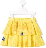 Lapin House draped pleated skirt