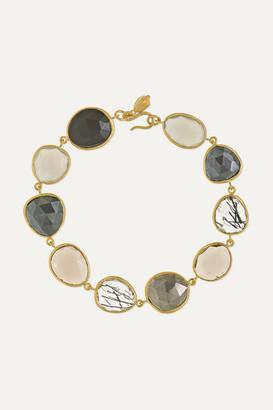 Pippa Small 18-karat Gold Multi-stone Bracelet - one size
