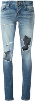 Saint Laurent stretch denim skinny jeans - women - Cotton/Spandex/Elastane - 29