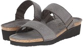 Naot Footwear Bianca (Gray/Silver Rivets/Metal Leather) Women's Sandals