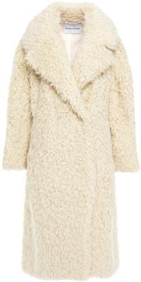 Stand Studio Nicoletta Oversized Faux Shearling Coat