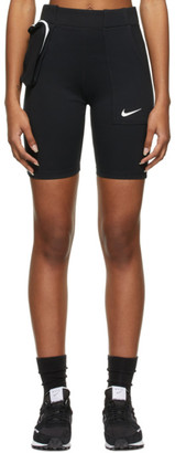 Nike Black Sportswear Tech Pack Bike Shorts