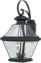 Bed Bath & Beyond Rutledge Outdoor Wall Mounted Lantern in Mystic Black