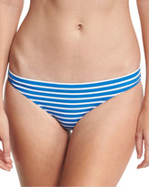 Tory Burch Regatta Hipster Swim Bottom, Blue/White