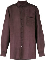 Massimo Alba long sleeve pocket shirt - men - Ramie - M