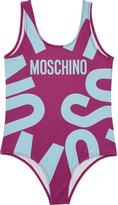 Moschino Logo swimming costume 4-12 years