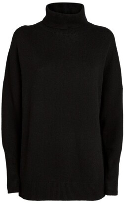 Chinti and Parker Cashmere Rollneck Sweater