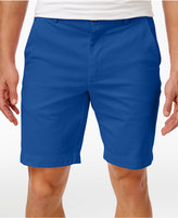 "Brooks Brothers Red Fleece Men's 9"" Stretch Flat-Front Cotton Shorts"