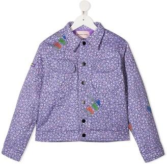Natasha Zinko Kids Floral Cartoon Jacket