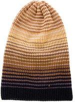 Missoni Striped Rib Knit Beanie
