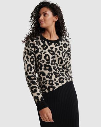 Superdry Lisa Leopard Jumper