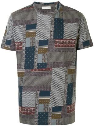 Etro Patchwork Print T-Shirt