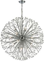 Elk Lighting Starburst 19-Light Chandelier in Polished Chrome