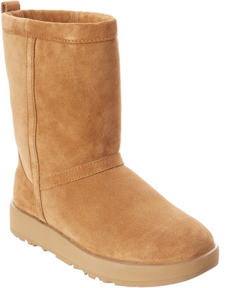 UGG Women's Classic Short Waterproof Suede Boot