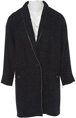 Proenza Schouler Black Wool Coat for Women