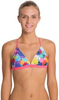 Speedo Poly Gone Tie Back Swimsuit Top 8114586