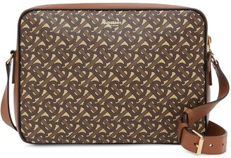 Burberry Monogram Print Messenger Bag