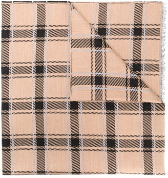Givenchy Checked Scarf