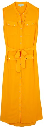 Melissa Odabash Charlene Marigold Maxi Shirt Dress
