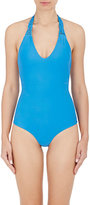 Mikoh Women's Mediterranean One-Piece Swimsuit-BLUE