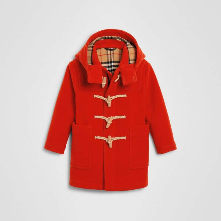 Burberry Childrens Double-faced Wool Duffle Coat