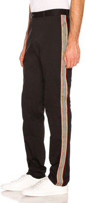 Burberry Vintage Stripe Chino in Black | FWRD
