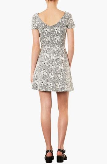 Topshop Jacquard Tunic Dress