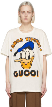 Gucci Off-White Disney Edition Amor Donald Duck T-Shirt