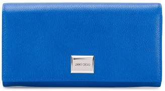 Jimmy Choo grainy leather wallet
