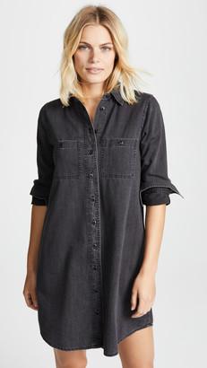 Madewell Black Denim Shirtdress