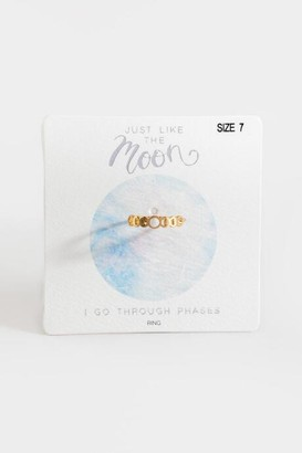francesca's Jessie Moon Phases Ring - Gold