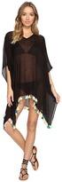 Bindya Neon Tassel Cover-Up Dress