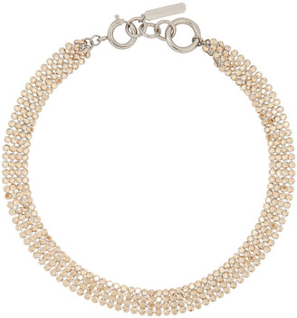 Justine Clenquet Silver Kay Choker