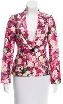 Kate Spade Notch-Lapel Floral Blazer