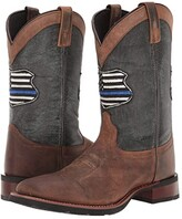 Laredo We Back the Blue (Tan/Blue) Cowboy Boots