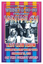 Loren Poster Revolution Van Halen at the Whiskey A-Go-Go Poster Poster Print by Dennis Loren, 14x20