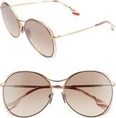 Burberry 60mm Gradient Round Sunglasses