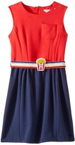 Little Marc Jacobs Milano Pop Corn Belt Dress Girl's Dress