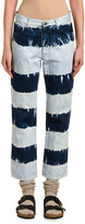 Alanui Tie-Dye Straight-Leg Jeans