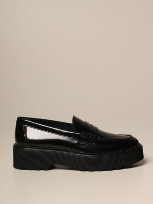 Tod's Tods Loafers Tods Loafers In Brushed Leather With Rubber Sole