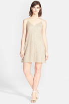Alice + Olivia Kalia Beaded V-Neck Dress