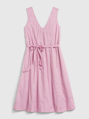 Gap Pintuck Swing Dress