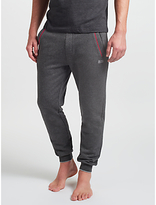HUGO BOSS BOSS Cuff Lounge Pants, Grey/Red