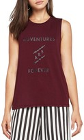 BCBGeneration Adventures Are Forever Muscle Tank