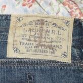 Ralph Lauren Straight Denim Skirt