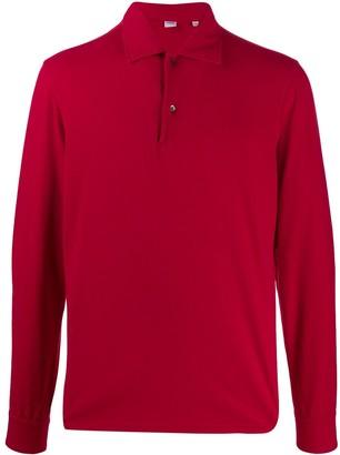 Aspesi long sleeved polo-shirt