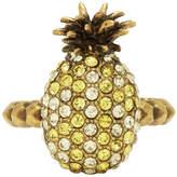 Gucci Silver Three-Pearl Multi-Finger Ring