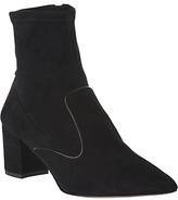 LK Bennett L.K.Bennett Harri Ankle Sock Boots, Black Suede