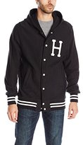 HUF Men's Classic H Hood Varsity Jacket