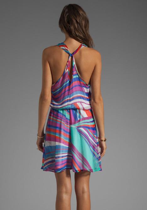 Ella Moss Kaleidoscope Tile Dress